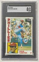 1984 Topps Steve Carlton #780 Graded Card SGC 8 - PSA Philadelphia Phillies