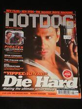 HOTDOG magazine #40, Bruce Willis, Die Hard, Sean Connery, Joel Schumacher, RARE