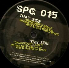 """ALEX S groover (techno 2007) 12"""" EX SPG 015 sp groove records brazil"""