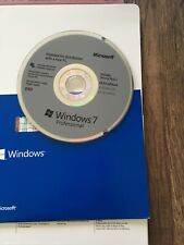 Microsoft Windows 7 Professional 64 Bit Brand New