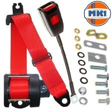 Rover P4 60 75 80 90 95 105 & 110 Saloon Front Automatic Seatbelt Kit Red