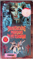 Bloodsucking Pharaohs in Pittsburgh VHS 1991 Campy Comedy Horror Vampire