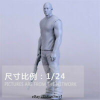 1/24 Fast & Furious muscle man Resin Kits Unpainted Model GK Unassembled
