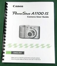 Canon PowerShot A1100 IS Instruction Manual: 132 Pages & Protective Covers