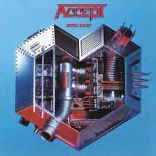 Accept ‎– Metal Heart + Bonus Tracks - CD SIGILLATO * HEAVY METAL * U.D.O.