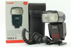 【Top MINT w/Box】Canon Speedlite 580EX II Shoe Mount Flash for Canon From Japan