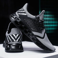 Men's Running Breathable Shoes Gym Casual Tennis Walking Athletic Sneakers