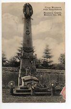 MOYEUVRE GRANDE Gross Moyeuvre Moselle CPA 57 le monument français de 1870