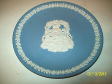 "New Wedgewood ""Mother 2000"" Blue Plate No Box 6 5/8 inches made in England"