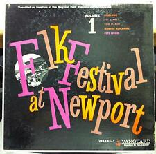 Various Pete Seeger - 1959 Folk Festival At Newport Vol 1 LP VG+ VRS-9062 1st