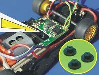 Slotcar HALTER 3erSET für Carrera Digitaldecoder UMBAU an Slot it / NSR   2673-3