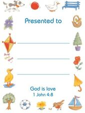 20 Children's Presentation Labels With Bible Text - EB0467