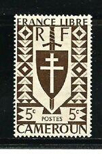 Cameroon Stamps- Scott # 282/A23-Mint/LH-5c-1941-OG