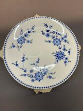 Seltmann Weiden Doris bayrisch blau Prozellan 4x Frühstücksteller
