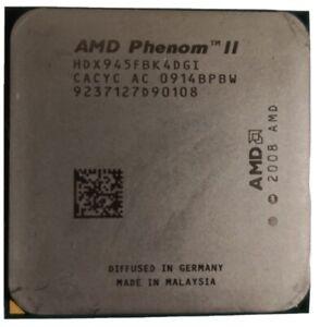 AMD Phenom II 945 CPU