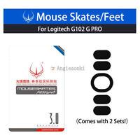 New Gaming Mouse Feet/Skates 2sets for Logitech G102 G PRO