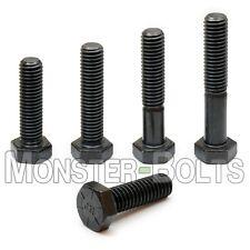 14 20 Hex Cap Screws Tap Bolts Coarse Sae Grade 8 Alloy Steel W Black Oxide
