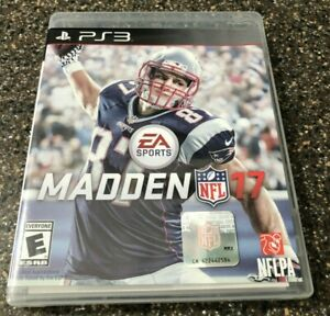 Madden NFL 17 - Sony PlayStation 3 PS3.- Clean & Tested Working - Free Sihp