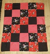 **REDUCED TO CLEAR** MINNIE MOUSE PATCHWORK BLANKET