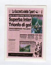 figurina SUPER ALBUM LA GAZZETTA DELLO SPORT NUMERO 209