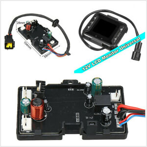12V Automobile 3KW 5KW 12V Motherboard+LCD Controller For Car Air Diesel Heater