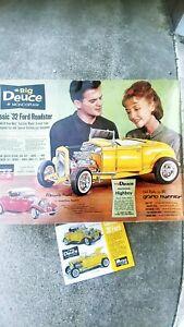 Big Duece Monogram Model 1932 Ford Roadster
