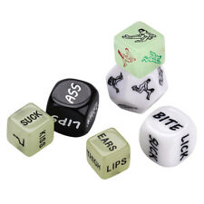 6PCS Sex Position Love Dice Game Toy For Bachelor Sex Party Adults Couple Lovers