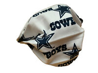FACE MASK FABRIC MACHINE WASHABLE DALLAS COWBOYS FOOTBALL ADULT MENs WOMEN
