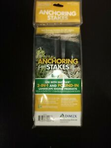 Dimex Landscape Edging Anchoring Stakes, 10 inches long, Pack of 10, New