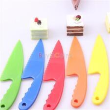 Kitchen Lettuce Serrated Knife Plastic Blade Slice Cake Cook US DE