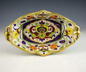 Antique Morimura Bros. Nippon Japanese Porcelain Bowl - Art Deco!
