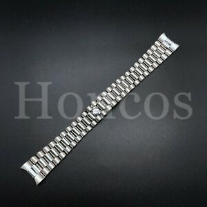 PRESIDENT SILVER WATCH BAND BRACELET FOR ROLEX DATEJUST 20MM STAINLESS ST