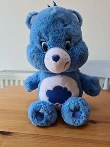 "Care Bear Blue Grumpy Bear Rain Storm Cloud 9"" Plush Toy 2014"