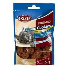 Cookies con Salmón Snacks para Gatos, Golosinas, Chucherías y Premios