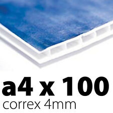 100 x Correx Sign Boards | 4mm A4 | Printed UV Full Colour