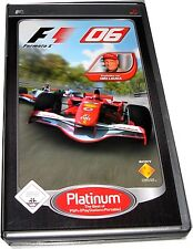 F1 06 (sony psp, 2007) platinum playstation portable jeu