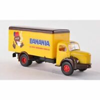 BREKINA 85321 1/87 HO CAMION BERLIET GLR 8 CONTENEUR BANANIA 1949 (F) H0