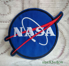USA NASA Logo Space Program Vector Embroidered Iron/Sew On Patch Emblem