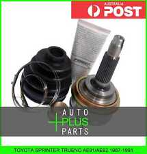 Fits TOYOTA SPRINTER TRUENO AE91/AE92 1987-1991 - Outer Cv Joint 23X56X26