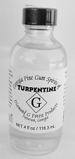 Pure Gum Spirit Turpentine 4 Oz Health Care Beauty Oral Home Clean Wash Supply