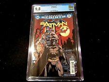 Batman #1 Cgc 9.8 - Dc Universe Rebirth!