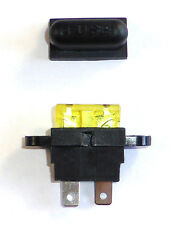 10 Stk. Spritzwassergeschützter Sicherungshalter für Flachsicherung, Auto Boot