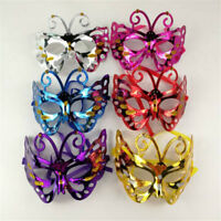 Venetian Carnival Plastic Butterfly Masks Halloween Party Masks Masquerade Mask0