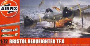 Airfix Bristol Beaufighter Tf.x Maurice Exton Raf 1944/1945 Model Kit 1:72