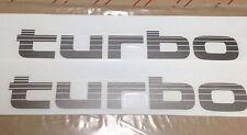 Genuine OEM Toyota Land Cruiser Turbo Decal 80 series- PAIR