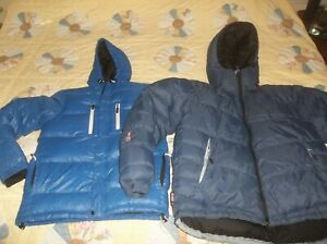 ONE Goose Down Puffer Jacket Coat Parka WARM Small Everest OR XL HelSport Baffle