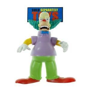 The Simpsons Krustylu Studios KRUSTY angry clown original Playmates figure
