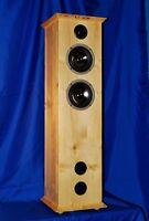 PINUS MEX 900 Lautsprecher Boxen PAAR 2x140/360 Watt HOLZ Fichte LANDHAUS-STIL