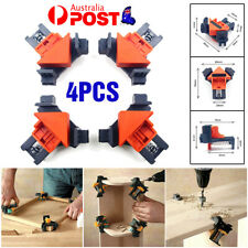 4PCS 90 Degrees Right Angle Clamp Clip Quick Fixing Picture Frame Corner Clamps