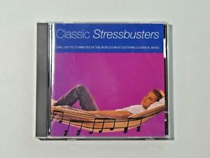 CLASSIC STRESSBUSTERS CD 72 Minutes of Worlds Most Soothing Classical Music BMG
